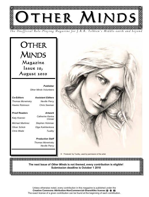 Other Minds Magazine Issue 10 published!