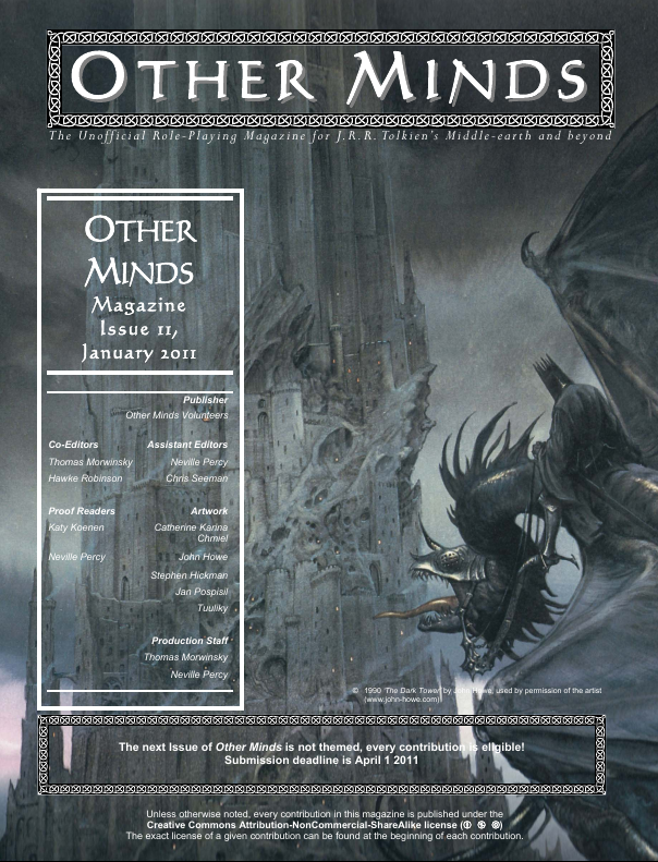 Other Minds Magazine Issue 11 published