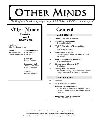 Other Minds Magazine Issue 2 published!