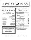 Other Minds Magazine Issue 5 published!